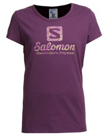 Salomon Natural Disaster T-Shirt Purple