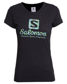 Salomon Frond Short Sleeve Tee Black