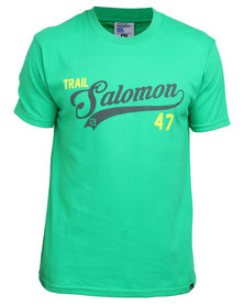 Salomon Enter T-Shirt Green