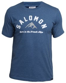 Salomon Latest Model T-Shirt Blue