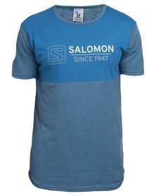 Salomon Victory T-Shirt Blue