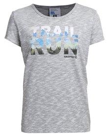 Salomon Risky T-Shirt Grey