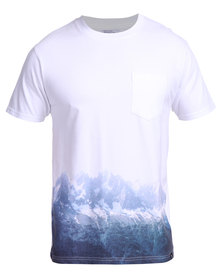 Salomon Mountain High Short Sleeve Tee White