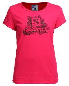 Salomon Aspire T-Shirt Pink