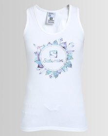 Salomon Smokin Tank White