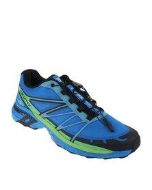 Salomon Wings Pro 2 Trail Running Shoes Blue
