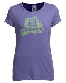 Salomon Aspire T-Shirt Purple