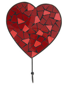 Sarongi Mosaic Heart Hook Red