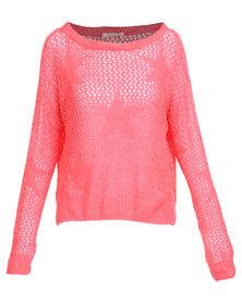 Sass Pop Star Knit Pink