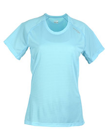 Saucony Hydralite T-Shirt Blue