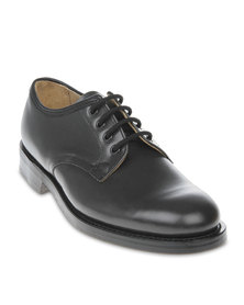 Saxone Classic Lace-Up Dress Shoes Grey