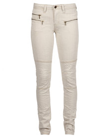 Selected Bean Jeans Cream