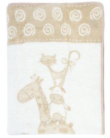 Sesli Lily Baby Blanket Beige