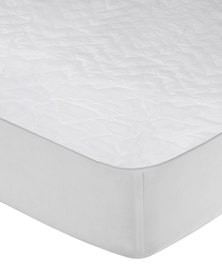 Quilted Queen Matress Protector White