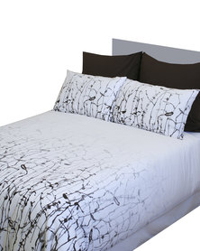 Sheraton Woodlands Duvet Cover Set White
