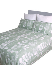 Sheraton Lise Duvet Cover Set Green