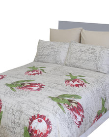 Sheraton Liefling Duvet Cover Set Red
