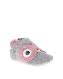Shooshoos Grey Owl Pumps Grey