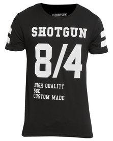 Shotgun Short Sleeve T-Shirt Black