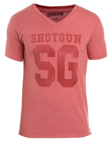 Shotgun Vee Neck T-Shirt