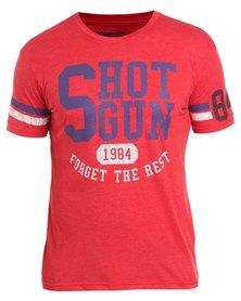 Shotgun Crew T-Shirt Red