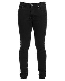 Silent Theory Deuce Skinny Jeans Black
