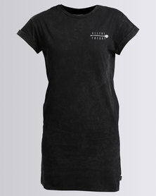 Silent Theory Ruthless Tee Dress Black