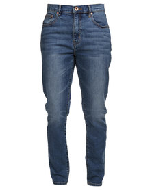 Silent Theory Billie Jean Skinny Jeans Blue