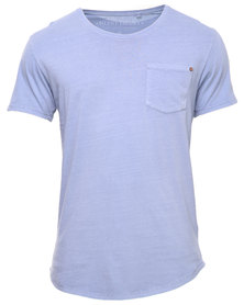 Silent Theory Exposed Tee Blue