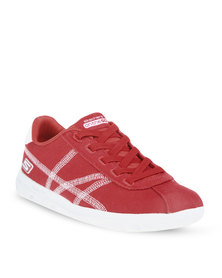 Skechers Classic Sneakers Red
