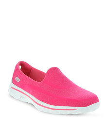Skechers Performance Super Sock Walking Shoes Pink