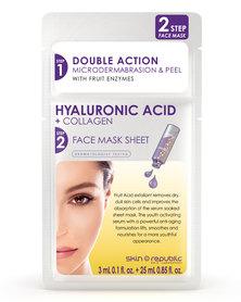 Skin Republic 2 Step Hyaluronic Acid Face Mask