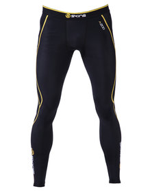 Skins A200 Men's Long Tights Black/Yellow