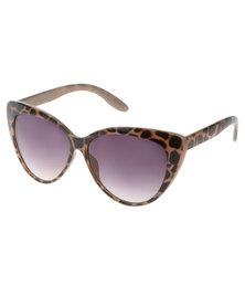 SKYE London Ombre Cats-Eye Sunglasses Brown