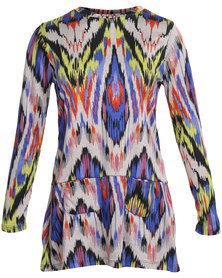 Slick Janet Syled Tunic Top Multi
