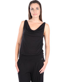 Soto Twist Jumpsuit Black
