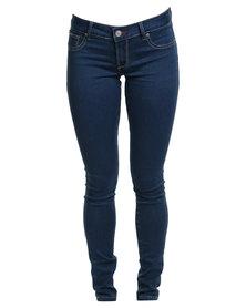 Soviet Sailsbury Skinny Jeans Blue
