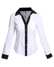 Soviet Adele Shirt White