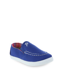 Soviet B Pepe Slip-On Royal Blue