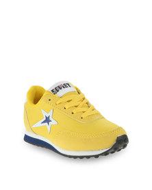 Soviet B Maybach 2 Low-Cut Sneakers Yellow