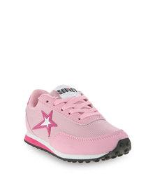 Soviet B Maybach 2 Low-Cut Sneakers Pink
