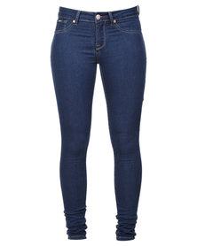 Soviet Alanna Jeans Blue