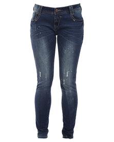 Soviet Anabel Jeans Blue