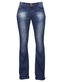 Soviet Dixie Jeans Blue