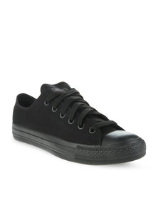 Soviet Viper Mono Sneakers Black