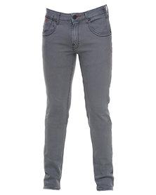 Soviet Tank #4 Straight Leg Jeans Grey