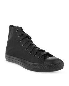 Soviet Viper Hi Nylon Sneakers Black
