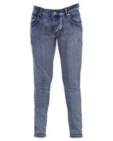 Soviet Vanilla Ice #4 Straight Leg Jeans Blue