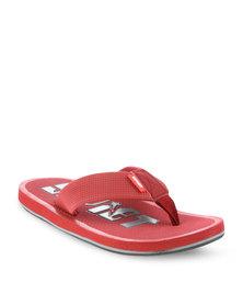 Soviet Aprilia Flip Flops Red