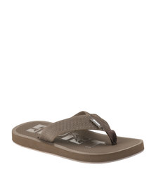 Soviet Aprilia Flip Flops Brown
